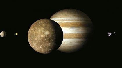 La NASA detecta una señal procedente de Ganímedes, satélite de Júpiter